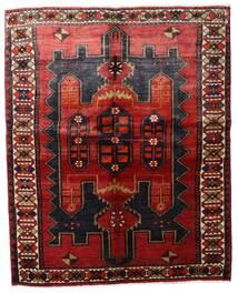 Lori Matta 157X198 Äkta Orientalisk Handknuten Mörkröd/Mörkbrun (Ull, Persien/Iran)