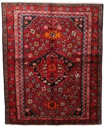 Lori Matta 160X198 Äkta Orientalisk Handknuten Mörkröd (Ull, Persien/Iran)