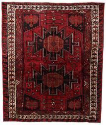 Lori Matta 169X202 Äkta Orientalisk Handknuten Mörkröd/Mörkbrun (Ull, Persien/Iran)