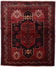 Lori Matta 163X196 Äkta Orientalisk Handknuten Mörkröd/Mörkbrun (Ull, Persien/Iran)
