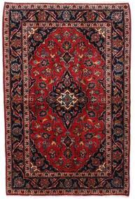 カシャン 絨毯 102X156 オリエンタル 手織り 深紅色の (ウール, ペルシャ/イラン)