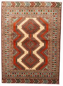 Turkaman Rug 125X172 Authentic Oriental Handknotted Dark Red/Dark Brown (Wool, Persia/Iran)