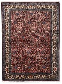Rudbar Rug 108X150 Authentic Oriental Handknotted Dark Brown/Dark Red (Wool, Persia/Iran)