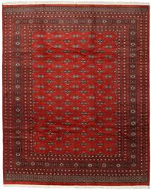 Pakistan Bokhara 2Ply Vloerkleed 244X301 Echt Oosters Handgeknoopt Donkerrood/Roestkleur (Wol, Pakistan)