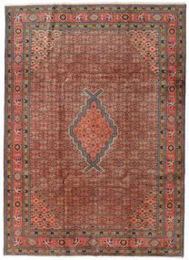 Ardabil Tapis 208X288 D'orient Fait Main Rouge Foncé/Marron Foncé (Laine, Perse/Iran)