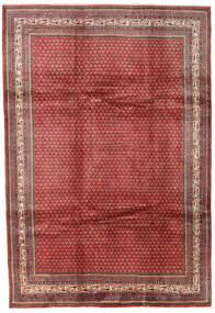 Sarough Mir Matta 215X313 Äkta Orientalisk Handknuten Mörkröd (Ull, Persien/Iran)