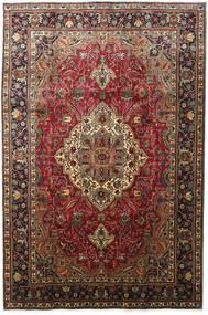 タブリーズ 絨毯 203X304 オリエンタル 手織り 濃い茶色/深紅色の (ウール, ペルシャ/イラン)