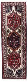 Ardebil Rug 66X194 Authentic Oriental Handknotted Hallway Runner Dark Red/White/Creme (Wool, Persia/Iran)