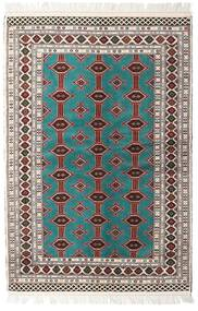 Turkaman Rug 135X198 Authentic Oriental Handknotted Beige/Light Grey (Wool, Persia/Iran)