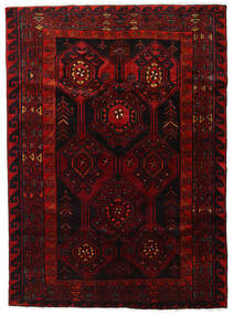 Lori Rug 168X231 Authentic  Oriental Handknotted Dark Red/Rust Red (Wool, Persia/Iran)