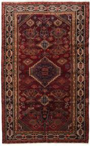 Lori Tapis 161X262 D'orient Fait Main Rouge Foncé/Marron Foncé (Laine, Perse/Iran)
