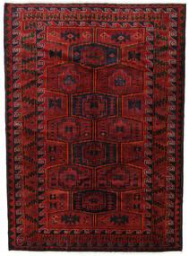 Lori Tapis 182X248 D'orient Fait Main Rouge Foncé/Noir (Laine, Perse/Iran)