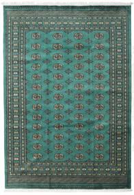Pakistan Bokhara 2Ply Rug 189X272 Authentic Oriental Handknotted Dark Green/Dark Turquoise (Wool, Pakistan)