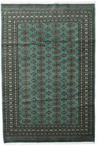 パキスタン ブハラ 2Ply 絨毯 186X277 オリエンタル 手織り 深緑色の/濃いグレー (ウール, パキスタン)