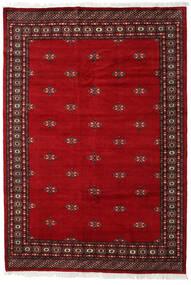 Pakistan Bokhara 2Ply Tæppe 168X247 Ægte Orientalsk Håndknyttet Mørkerød/Rød (Uld, Pakistan)