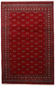 パキスタン ブハラ 3Ply 絨毯 201X315 オリエンタル 手織り 赤/深紅色の (ウール, パキスタン)