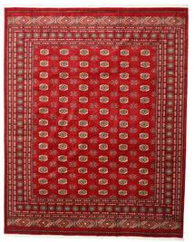 Pakistan Bokhara 3Ply Vloerkleed 246X308 Echt Oosters Handgeknoopt Roestkleur/Donkerrood (Wol, Pakistan)