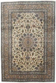 Kashmar Matta 197X292 Äkta Orientalisk Handknuten Mörkgrå/Ljusgrå (Ull, Persien/Iran)