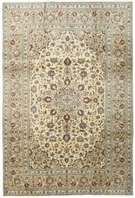 Keshan Matto 195X291 Itämainen Käsinsolmittu Tummanbeige/Beige (Villa, Persia/Iran)