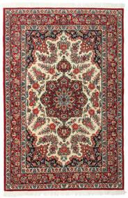Ghom Kork/Seide Teppich 117X179 Echter Orientalischer Handgeknüpfter Dunkelrot/Dunkelbraun (Wolle/Seide, Persien/Iran)
