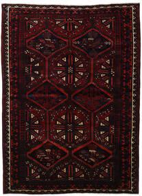 Lori Matta 183X254 Äkta Orientalisk Handknuten Mörkröd (Ull, Persien/Iran)