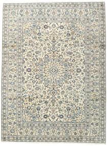 Keshan Matto 253X341 Itämainen Käsinsolmittu Beige/Vaaleanharmaa Isot (Villa, Persia/Iran)