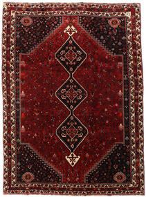 Ghashghai Matta 220X302 Äkta Orientalisk Handknuten Mörkröd/Mörkbrun (Ull, Persien/Iran)