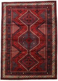 Lori Matta 213X303 Äkta Orientalisk Handknuten Mörkröd/Svart (Ull, Persien/Iran)