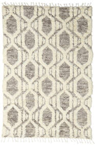 Barchi/Moroccan Berber - Indisch Teppich 160X230 Echter Moderner Handgeknüpfter Hellgrau/Beige (Wolle, Indien)
