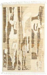 Barchi/Moroccan Berber - Indisch Teppich 160X230 Echter Moderner Handgeknüpfter Dunkel Beige/Beige/Hellbraun (Wolle, Indien)