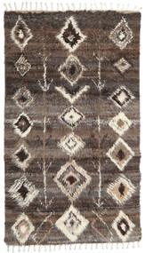 Barchi/Moroccan Berber - Indisch Teppich 160X230 Echter Moderner Handgeknüpfter Dunkelgrau/Hellgrau (Wolle, Indien)