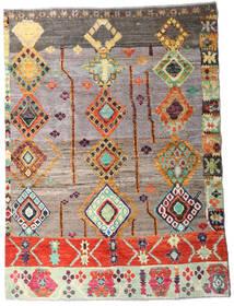Moroccan Berber - Afghanistan 絨毯 144X194 モダン 手織り 薄い灰色/薄茶色 (ウール, アフガニスタン)