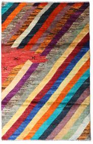 Moroccan Berber - Afghanistan 絨毯 118X184 モダン 手織り 深紅色の/濃い紫 (ウール, アフガニスタン)