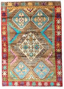 Moroccan Berber - Afghanistan 絨毯 120X169 モダン 手織り 濃い茶色/薄茶色 (ウール, アフガニスタン)