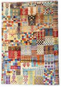 Moroccan Berber - Afghanistan 絨毯 117X171 モダン 手織り 暗めのベージュ色の/薄茶色 (ウール, アフガニスタン)