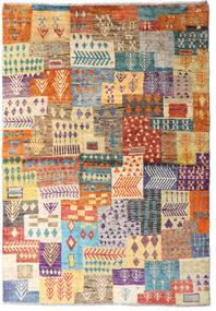 Moroccan Berber - Afghanistan 絨毯 122X177 モダン 手織り 濃いグレー/薄茶色 (ウール, アフガニスタン)