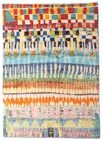 Moroccan Berber - Afghanistan 絨毯 127X177 モダン 手織り 暗めのベージュ色の/ベージュ (ウール, アフガニスタン)