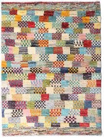 Moroccan Berber - Afghanistan 絨毯 125X166 モダン 手織り ベージュ/薄い灰色 (ウール, アフガニスタン)