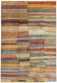 Moroccan Berber - Afghanistan 絨毯 199X294 モダン 手織り 茶/濃い茶色 (ウール, アフガニスタン)