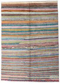 Moroccan Berber - Afghanistan Tapis 147X216 Moderne Fait Main Gris Foncé/Gris Clair (Laine, Afghanistan)