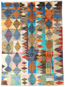 Moroccan Berber - Afghanistan 絨毯 144X198 モダン 手織り 薄茶色/ベージュ (ウール, アフガニスタン)