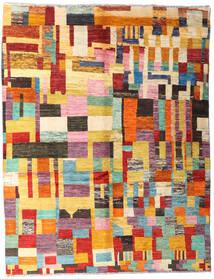 Moroccan Berber - Afghanistan 絨毯 150X194 モダン 手織り 薄茶色/深紅色の (ウール, アフガニスタン)