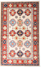 Kazak Tapis 93X152 D'orient Fait Main Beige/Rose Clair (Laine, Pakistan)