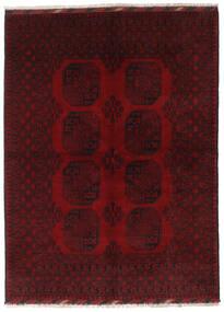 アフガン 絨毯 167X227 オリエンタル 手織り 深紅色の (ウール, アフガニスタン)