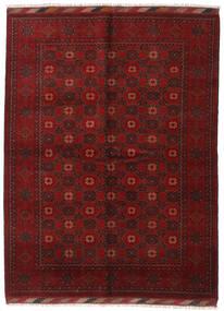 Afghan Rug 174X232 Authentic  Oriental Handknotted Dark Red (Wool, Afghanistan)