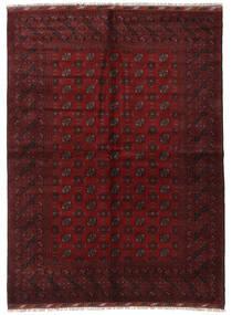 Afghan Rug 176X240 Authentic  Oriental Handknotted Dark Red (Wool, Afghanistan)