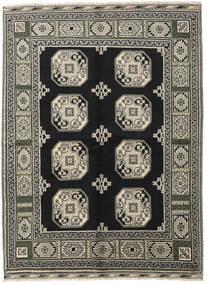 Afghan Teppe 176X232 Ekte Orientalsk Håndknyttet Svart/Mørk Grå (Ull, Afghanistan)