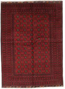 アフガン 絨毯 175X238 オリエンタル 手織り 深紅色の/濃い茶色 (ウール, アフガニスタン)