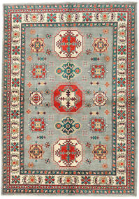 Kazak Rug 169X242 Authentic  Oriental Handknotted Light Grey/Dark Grey (Wool, Pakistan)