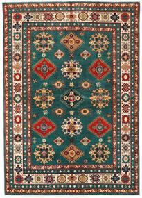 Kazak Teppe 168X237 Ekte Orientalsk Håndknyttet Mørk Rød/Mørk Turkis (Ull, Pakistan)